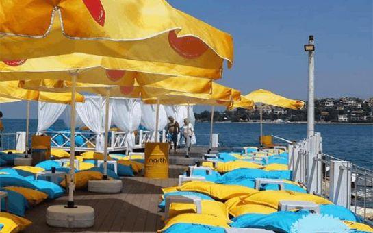 Kocaeli Kerpe Gaia Beach'de Plaj Girişi, Şezlong, Şemsiye