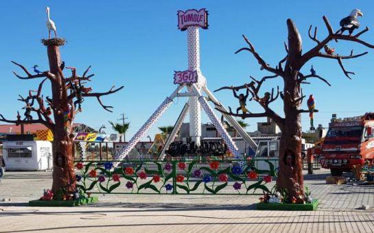 Tarsus Kılınç Berdan Lunapark'ta Doyasıya Eğlence İçin 10'lu Giriş Bileti