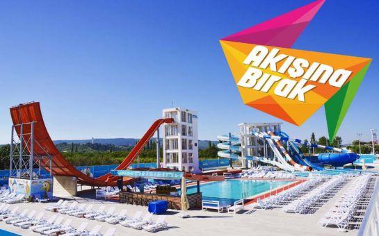 Kuzey Ege'nin En Büyük Su Parkı Çanakkale Aqualand'de Tüm Gün Aquapark ve Havuz Keyfi