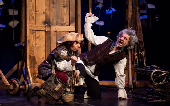 Ozan Güven ve Günay Karacaoğlu'nun Muhteşem Oyunculuklarıyla Cervantes'in Ünlü Eserinden Uyarlanan 'Don Kişot'um Ben' Tiyatro Oyunu Bileti