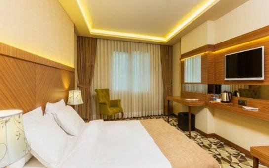 Şişli Atro Hotel'de 2 Kişilik Konaklama, SPA Merkezi Kullanımı ve Açık Büfe Kahvaltı Seçenekleri