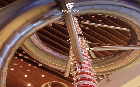 Türkiye'nin En Uzun Kapalı Alan Kaydırağı Emaar Mall Kaydırax'ta Adrenalin Dolu Yolculuk Bileti