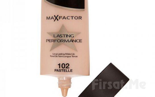Max Factor False Lash Effect Maskara + Max Factor Lasting Performance Fondöten İle Makyajınız Kusursuz Görünecek! (Orjinal Ürün)