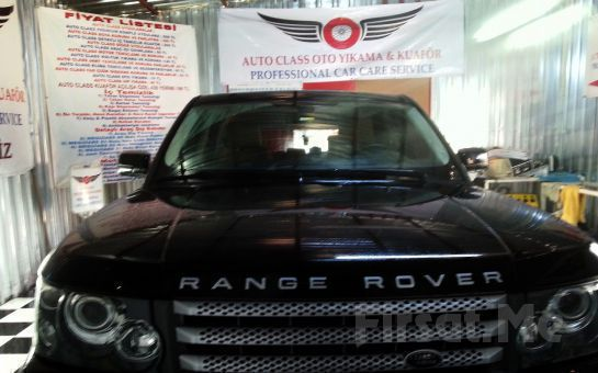 AUTO CLASS Oto Kuaför'den, Komple İç Temizliği + Detaylı Motor Temizliği + Ozonlama + Cam Suyu Kaydırıcı!