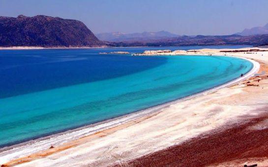 Adventur Turizm'den 1 Gece Konaklamalı Salda Gölü, Pamukkale, Çeşme, Alaçatı, Ilıca Turu