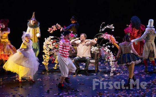 Burhan Şeşen'in Eşsiz Besteleri ve Gizem Duman Şeşen'in Sahne Performansıyla 'Canlanma: Sanat Üzerine Bir Masal' Tiyatro Bileti