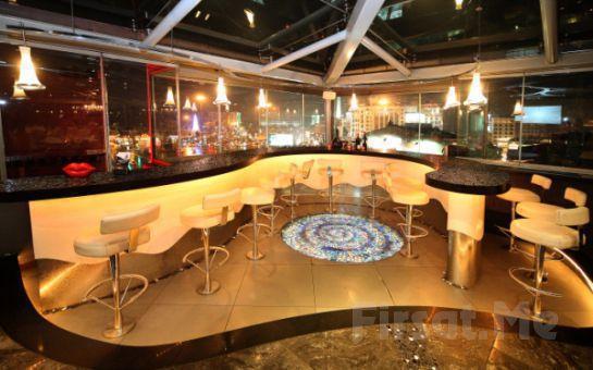 Taksim Cartoon Otel Teras Restaurant'da Canlı Sahne Performansları, Dans Showları ve Leziz Menü İle Muhteşem Yeniyıl Partisi! (Sınırsız Yerli İçki Dahil)