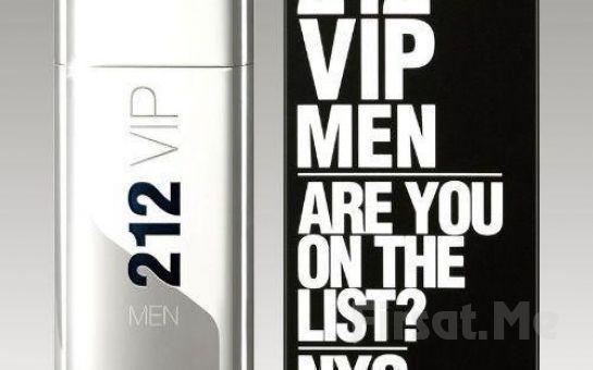 Erkeklere Özel Carolina Herrera'dan 212 Vip Men 100 Ml Orjinal Tester Parfüm Fırsatı!