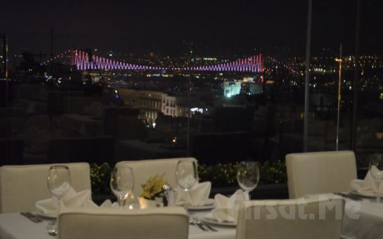 Taksim City Center Hotel Roof Restaurant'ta Canlı Ege ve Yunan Müziği, Oryantal Showlar, Havai Fişek Gösterisi, Leziz Yılbaşı Menüsü (Limitsiz Yerli İçki Dahil)