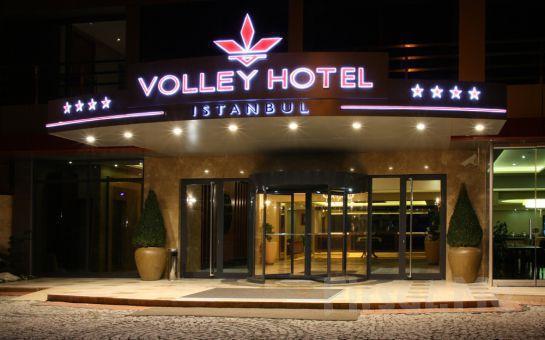 Üsküdar'ın Tarihi Güzelliği Eşliğinde Volley Hotel İstanbul'da Alakart veya Fix Menü Seçenekli Türk Sanat Müziği Eşliğinde Fasıl Keyfi