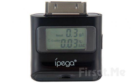 IPhone, iPad ve iPod Uyumlu, LCD Ekranlı iPega Alkol Test Cihazı