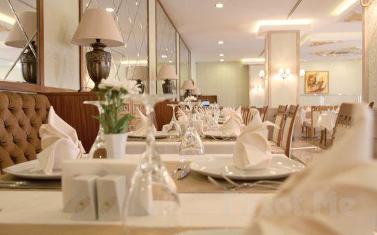 5 * Sakarya Elmas Garden Inn Otel'de 2 Kişi 1 Gece Yarım Pansiyon Konaklama + Türk Hamamı + Kapalı Havuz + Sauna Fırsatı!
