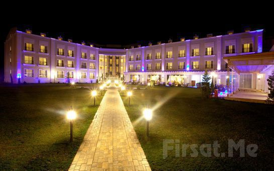 5 * Sakarya Elmas Garden Inn Otel'de 2 Kişi 1 Gece Yarım Pansiyon Konaklama, Türk Hamamı, Kapalı Havuz, Sauna Fırsatı