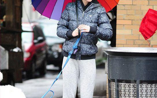 Yağmurda Islanmaya Son! Rengarenk Gökkuşağı Şemsiye!