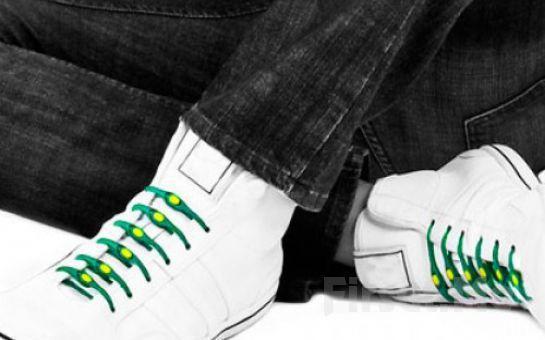 Güne Renkli Başlayın 12 Adet Renkli Silikon Ayakkabı Bağı