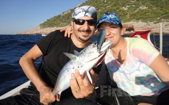Boğaz'da Balığa Çıkıyoruz! Balık Avı Turu + Sandviç İkramı ve Sınırsız Çay!