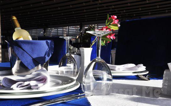Küçükyalı Asetrin Balık Gourmet'ten Alkollü ya da Alkolsüz İçecek Seçenekleriyle Akşam Yemeği
