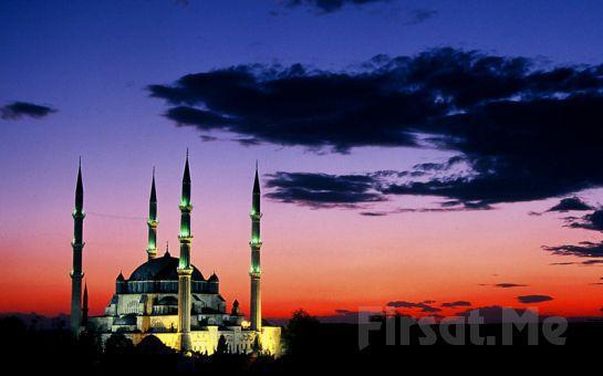 Osmanlı'nın Başkentine Gidiyoruz Paytur'dan, Köfte Menü İkramıyla Günübirlik EDİRNE TURU (Her Cumartesi Hareketli)