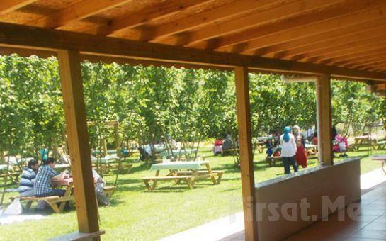 Polonezköy Park Asya Piknik'te Açık Büfe Kahvaltı Fırsatı
