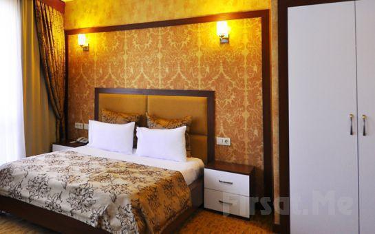 Ataşehir Asya Suites Hotel'de Executive veya Suite Odalarda 2 kişi 1 Gece Kahvaltı Dahil Konaklama