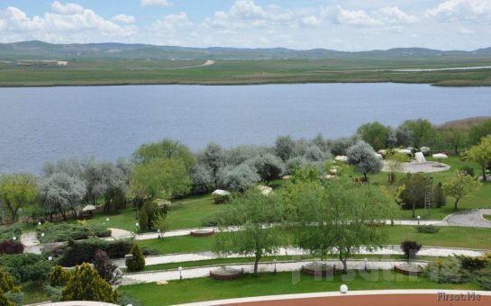 Muhteşem Göl Manzarası Eşliğinde Gölpark Sidelya Tesislerinde Çift Kişi Köfte ve Tavuk Mangal Keyfi