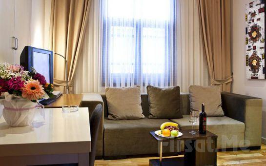 Evinizin Konforu ve Rahatlığında Konaklama Keyfi Beşiktaş Bright Suites Hotel'de Kahvaltı Dahil 2 Kişi 1 Gece Konaklama Fırsatı