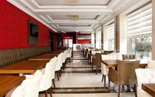 5* Turist Hotel Ankara'da Standart Odalarda 2 kişi 1 Gece Oda + Kahvaltı + Akşam Yemeği + Spa Keyfi Seçenekleri!
