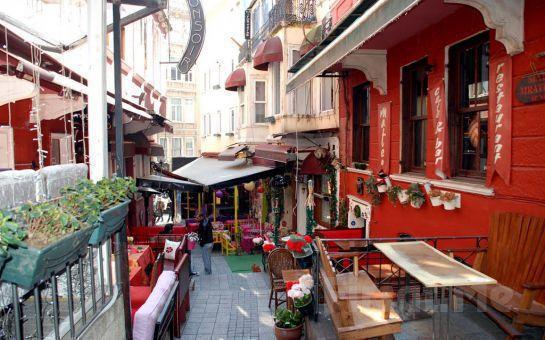 Fransız Sokağı, Magic House Hotel'de Sınırsız Çay Eşliğinde Serpme Kahvaltı Keyfi!