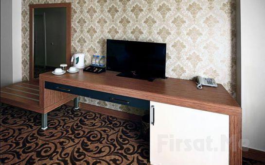 Kültür Başkenti Eskişehir'de Sör Otel'de Kahvaltı Dahil 2 Kişi 1 Gece Konaklama Fırsatı!