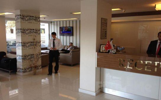 İzmir Alsancak Vesta Fuar Hotel'de Standart Odalarda 2 Kişi 1 Gece Konaklama + Kahvatı Fırsatı!