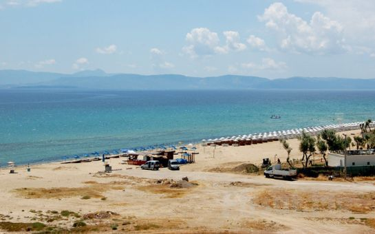 Ayvalık'ta Denize Sıfır Bir Yaz Tatili Sarımsaklı Plajı, Nil Hotel'de Yarım Pansiyon Konaklama Fırsatı