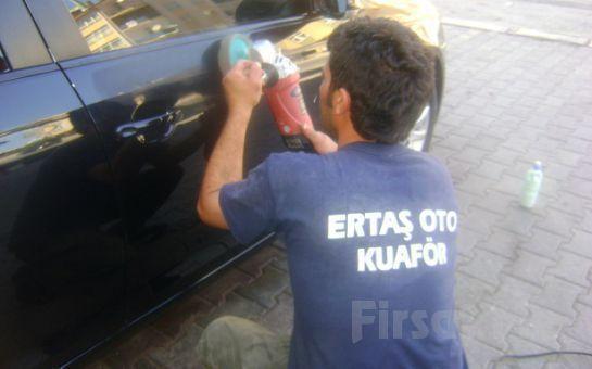 Ertaş Oto Kuaför'den 25 İşlemden Oluşan Garantili Gold Araç Temizliği