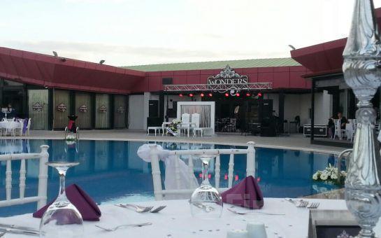 Çankaya Wonders Pool'da, Cumartesi ve Pazar Günlerine Özel Canlı Müzik Eşliğinde Havuz Başı Kahvaltı Keyfi