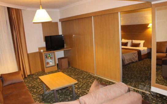Bilecik Bozüyük Grand Çalı Hotel'de Kahvaltı Dahil 2 Kişi 1 Gece Konaklama + SPA Fırsatı!