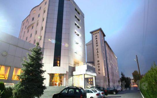 Bilecik Bozüyük Grand Çalı Hotel'de Kahvaltı Dahil 2 Kişi 1 Gece Konaklama, SPA Fırsatı