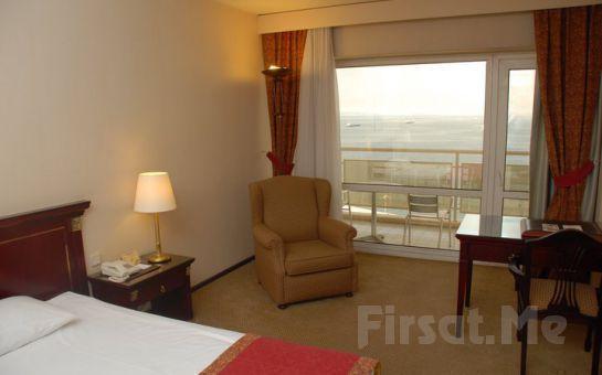 İzmir Körfezi Manzaralı Alsancak Ege Palas Business Hotel'de Kahvaltı Dahil 2 Kişi 1 Gece Konaklama Fırsatı!
