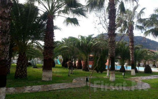 Dalyan'ın Kalbinde İztuzu Palmeden Hotelde 2 Kişi Yarım Pansiyon Konaklama Fırsatı!