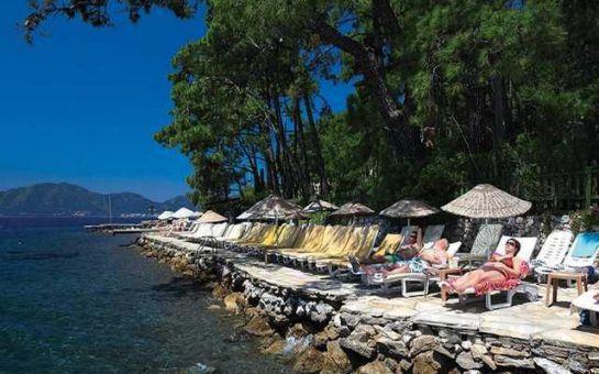 Denize Sıfır Marmaris Sun Maris Bella Mare Beach Otel'de Her Şey Dahil Tatil Fırsatı