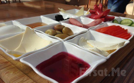 Atakent Cafe Gusto Name'de Sınırsız Çay Eşliğinde Serpme Kahvaltı Keyfi