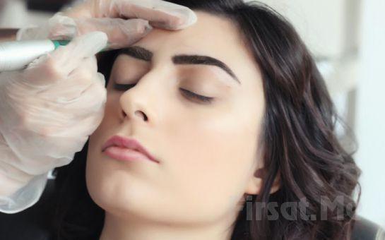 Kadıköy Bir Nefes istanbul'da 3 Yıllık Kalıcı Kaş Konturu veya Göz Eyeliner Uygulaması