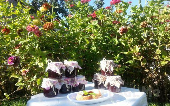 Gölbaşı Şirin Bahçe'de Yöresel Lezzetler ve Sahanda Doğal Kayseri Sucuğu Eşliğinde Serpme Köy Kahvaltısı