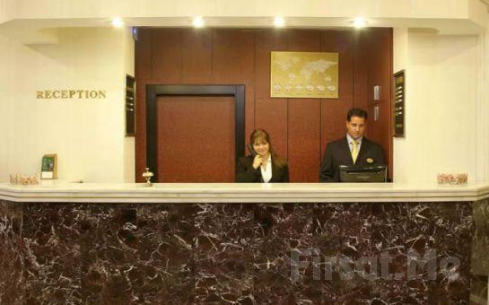 Kavaklıdere Hotel Houston Ankara'da Haftasonu 2 Kişi 1 Gece Konaklama, Kahvaltı, Spa Fırsatı