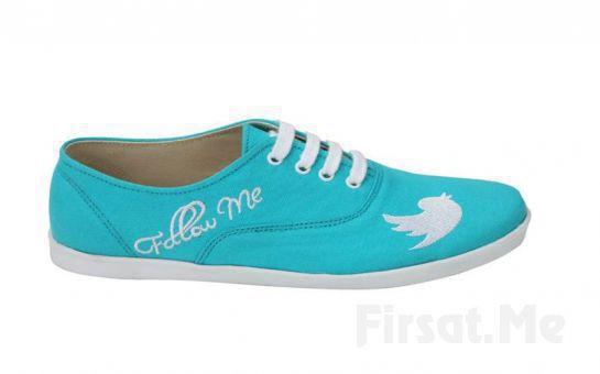 Sosyal Medya Ayaklandı! Özel Tasarım Sosyal Medya Ayakkabıları! (Ücretsiz Kargo!)