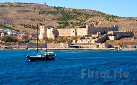 Ali Baba Tour'dan 1 Gece Yarım Pansiyon Konaklamalı Tekne Gezisi Dahil Ayvalık + Cunda + Kadırga Koyu + Assos Turu!