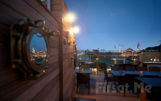 Sultanahmet'in Kalbinde, Muhteşem Deniz Manzarası Eşliğinde Burckin Suites Hotel'de İftar Ziyafeti!