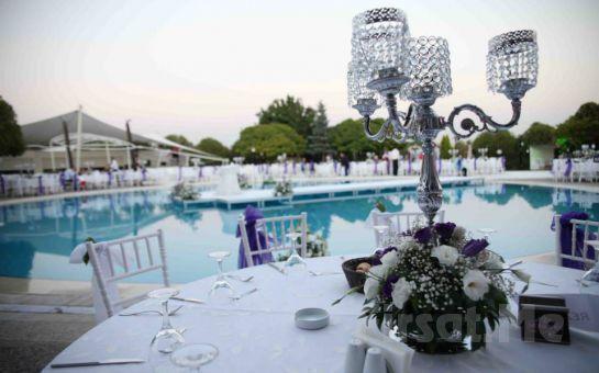 Ankara Wonders Pool'da Havuz Başında Kanun ve Keman Eşliğinde Nefis İftar Ziyafeti
