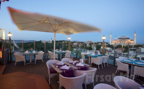 Sultanahmet Manzaralı Arden City Hotel Chronicles Roof Restaurant'ta Otantik İftar Yemeği Fırsatı!