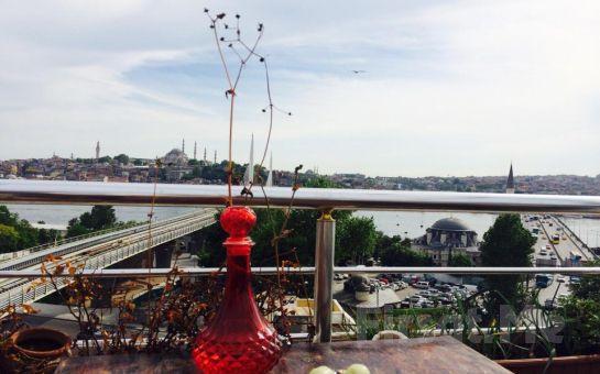 Şişhane Bohem Galata Tower'da Muhteşem İstanbul Manzarası Eşliğinde Serpme Kahvaltı Keyfi!