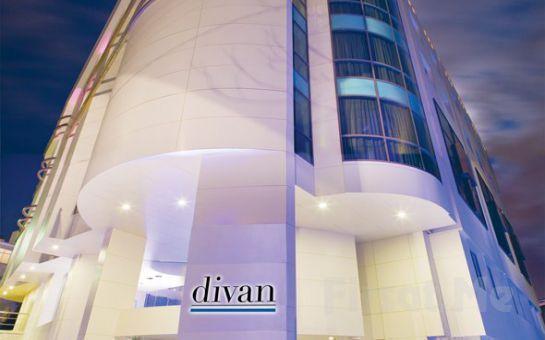 Divan Ankara Otel'in Şık ve Modern Odalarında 2 Kişi 1 Gece Konaklama Keyfi