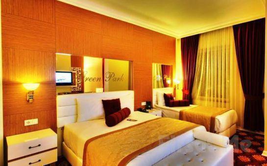 5 Yıldızlı The Green Park Hotel Diyarbakır'da 2 Kişi 1 Gece Konaklama ve Açık Büfe Kahvaltı!